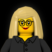 Nic represented as a LEGO minifigure